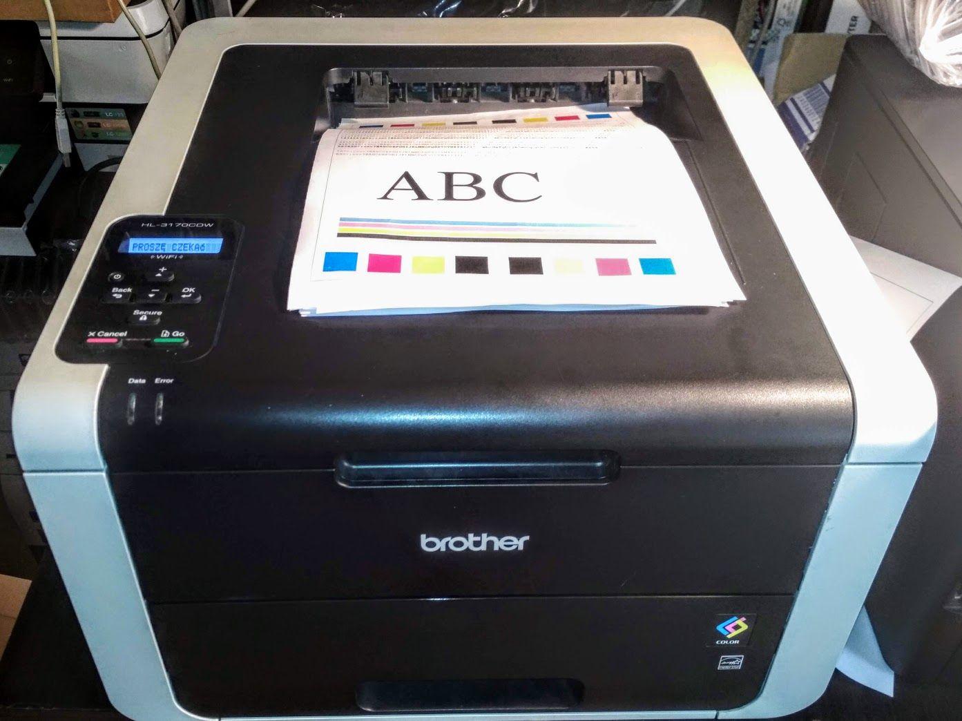 drukarka brother hl-3170 resetowanie bębnów tonerów